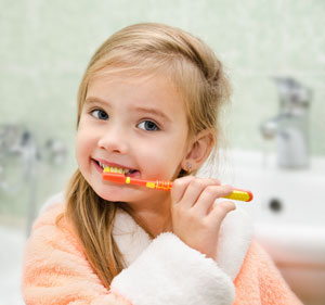 Brushing Teeth - Pediatric Dentist in Ardmore, PA